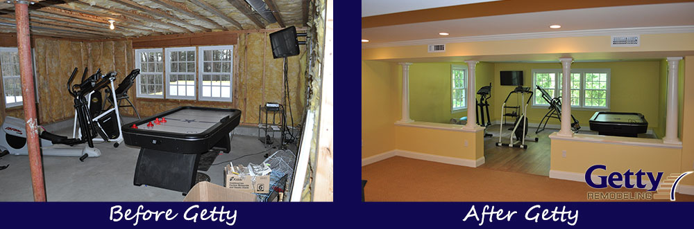 remodeled basements before and after home design ideas rh dominoscr com Small Basement Before and After Bathroom Remodels Before and After
